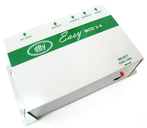 Modulator (AV to RF) dBy EASY MOD3-4