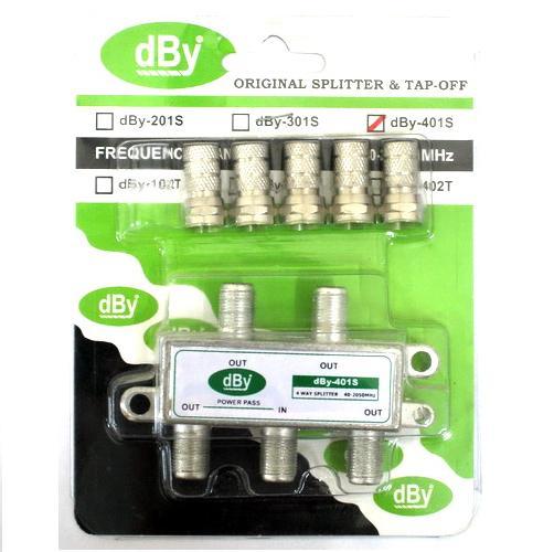 Indoor Splitter dBy 4 way