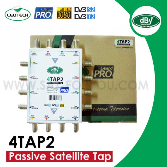 Passive Satellite Tap dBy รุ่น 4TAP2