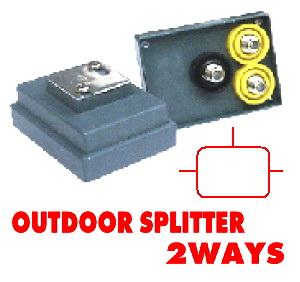 Outdoor Splitter CABLE 2Way