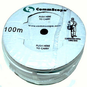 สายRG6 CommScope 60% 100ม. สีขาว