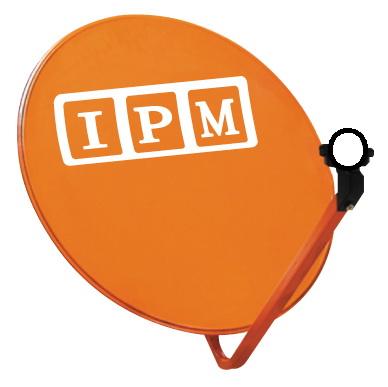 หน้าจานดาวเทียม IPM (สีส้ม) 60ซม.