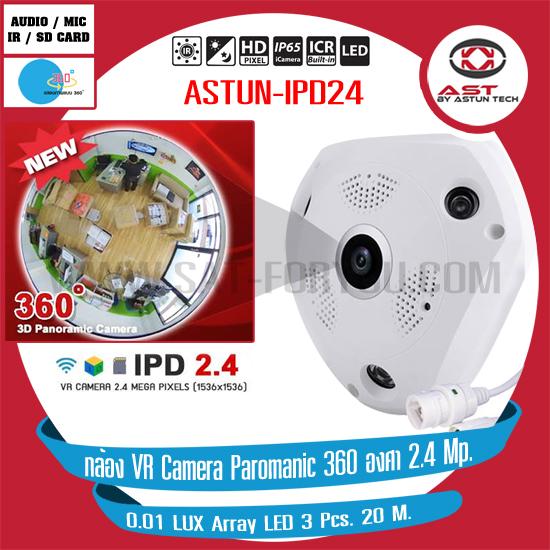 กล้อง VR Camera Paromanic 360 องศา