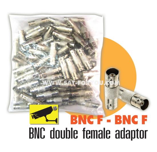 ตัวต่อกลางระหว่างBNC 2ทาง แพ็คถุง100