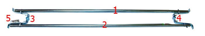 ชุดติดตั้งต่อเสริมเสาอากาศทีวี ขนาดความยาว 2.80เมตร