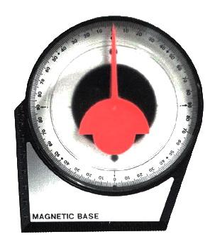 Angle Finder แองเกิลวัดมุม / อุปกรณ์ปรับมุมก้มเงย (ฐานแม่เหล็ก)