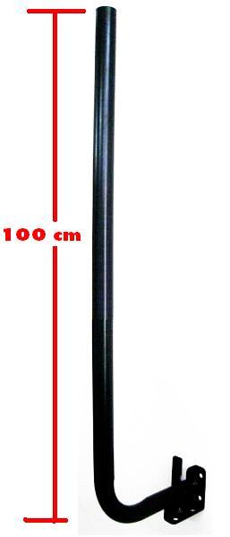 เสาตั้งจาน C-Band แบบกลับสูง 120 cm.