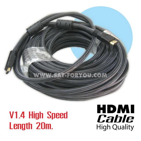 สาย HDMI CABLE ยาว 20m version1.4 High-Speed