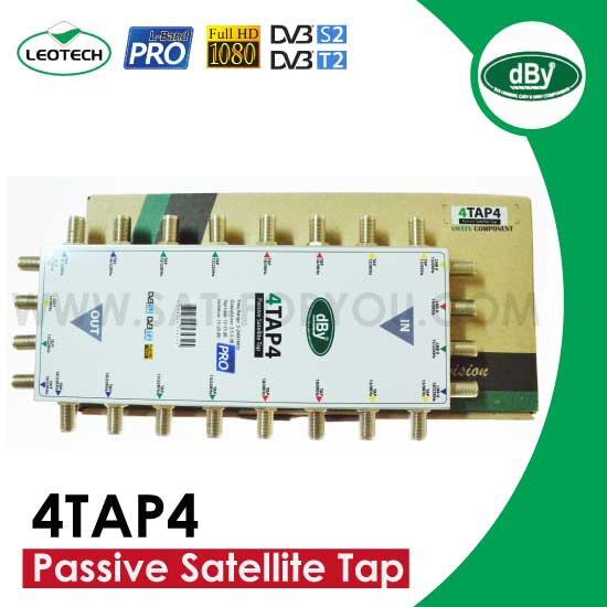 Passive Satellite Tap dBy รุ่น 4TAP4