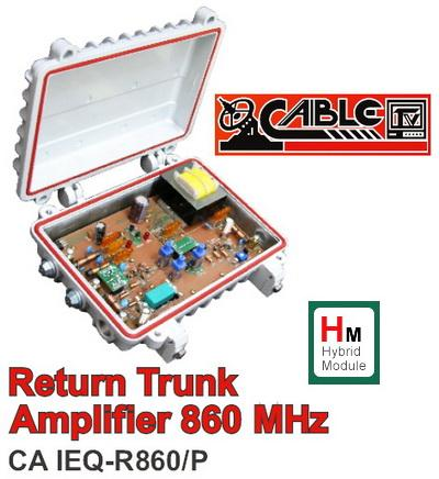 Return Trunk Amp CABLE 860MHz Philips NXP