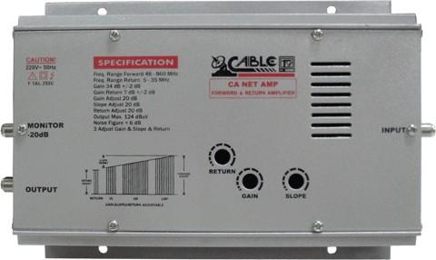 ตัวขยายสัญญาณ CABLE รุ่น CA NET AMP (Hybrid)