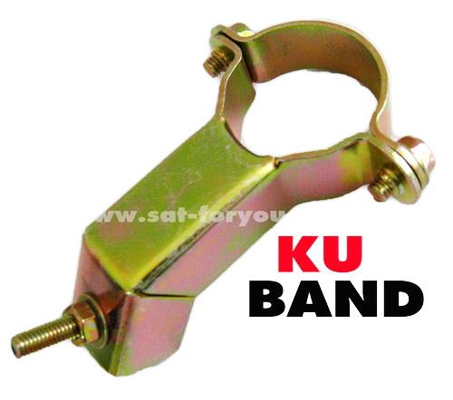 คอจับ / ห่วงจับ LNB ทองเหลือง สำหรับจาน KU-BAND