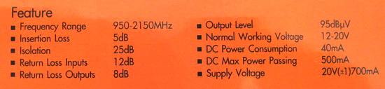 มัลติสวิตช์ Multi Switch IPM 4x12 รุ่น BMM4A3 (เข้า 4 ออก 12)