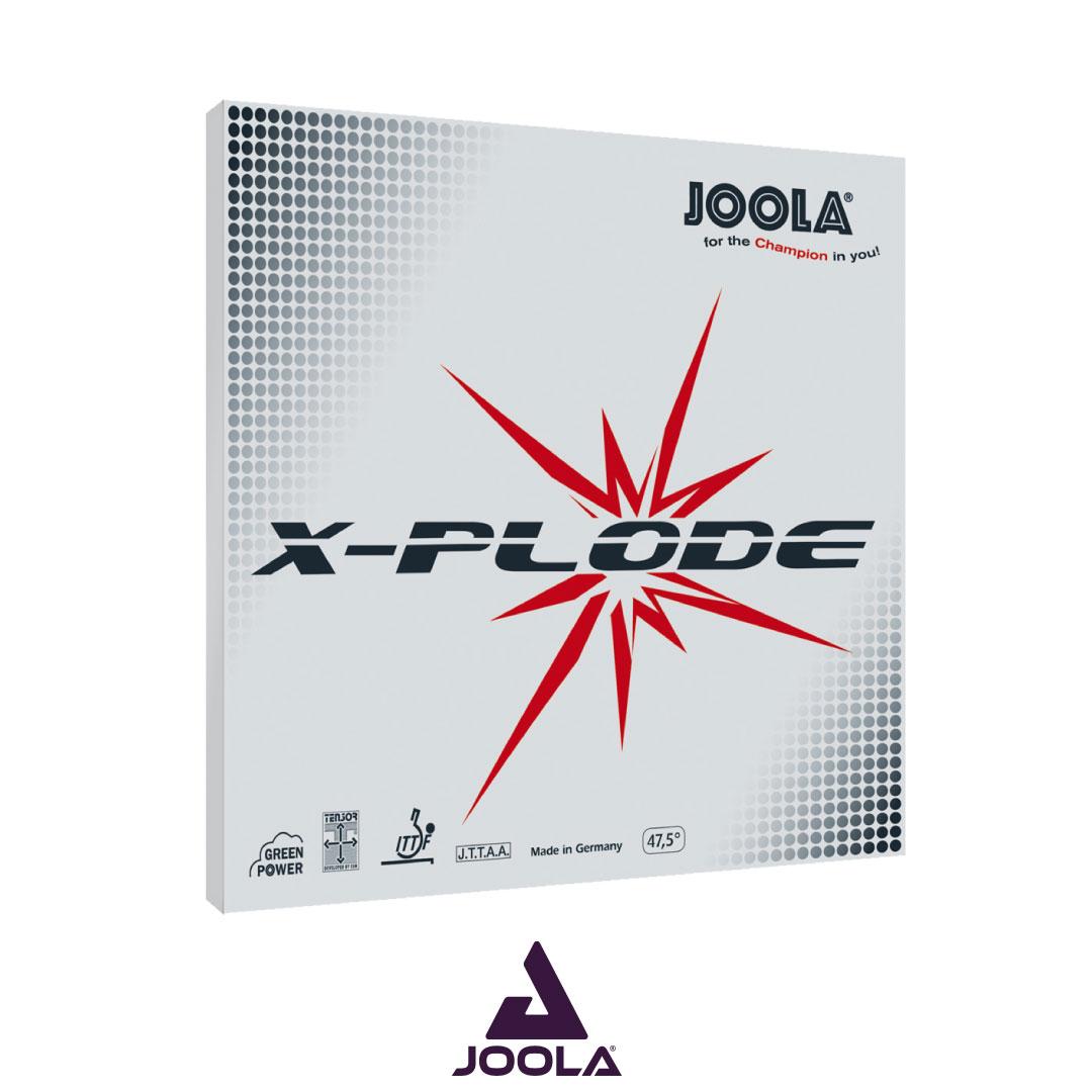 JOOLA X-PLODE RUBBER (ยางเรียบ)