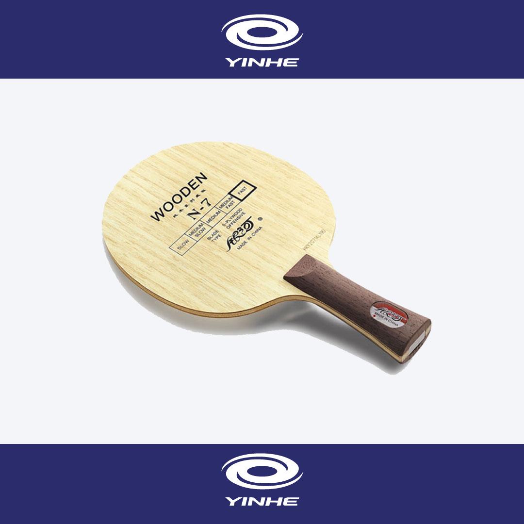 yinheไม้ปิงปองรุ่น Wooden N-7