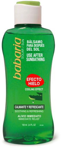 Babaria Use After Sunbathing Cooling Effect