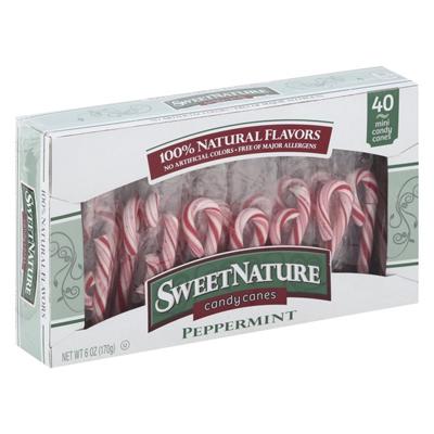 SweetNature Peppermint Mini Canes