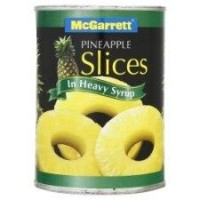 Mcgarrett Pineapple Slices In Heavy Syrup 20 oz