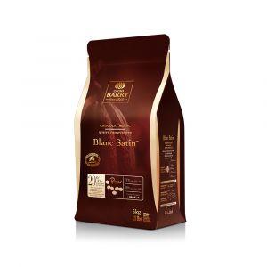 White Chocolate (Blanc Satin) 29%, Cacao Barry brand, 5 kg.