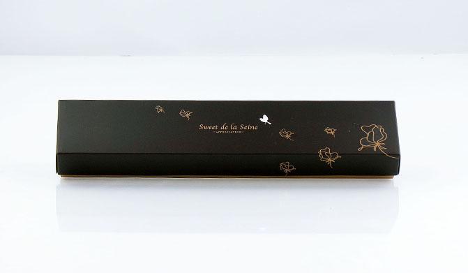 6405 กล่องลาย Le Jardin Des Sens ดำ 30.5x5.4x3.5(H) cm@5pcs