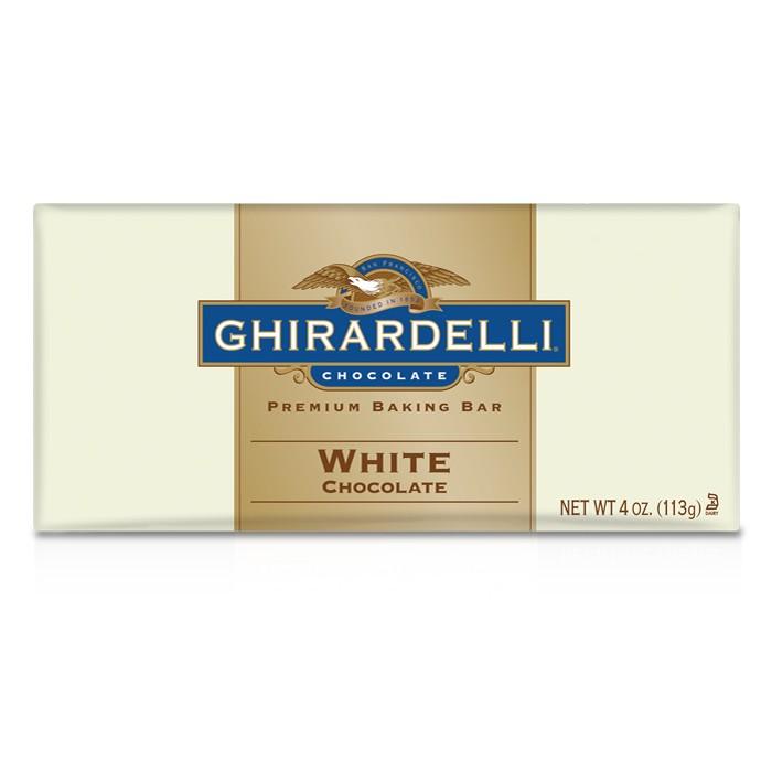 Ghirardelli White Chocolate Baking Bar 113 g