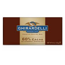 60% Cacao Bittersweet Chocolate Baking Bar 113 g