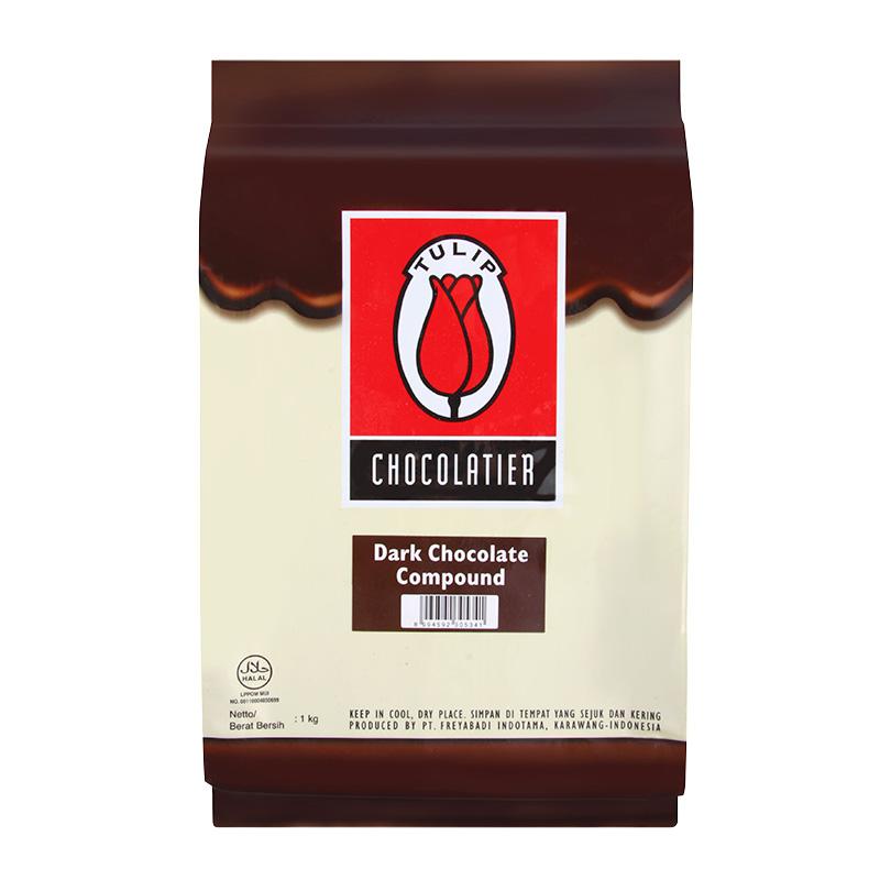 Tulip Dark Chocolate Super Compound 1 กก.