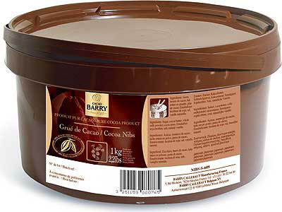 Cocoa Nibs Cacao Barry 1 kg