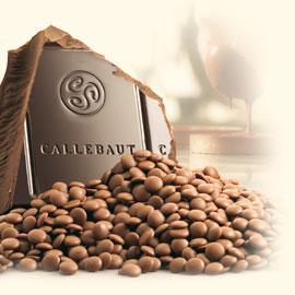 Milk Couverture:Callebaut 250 g