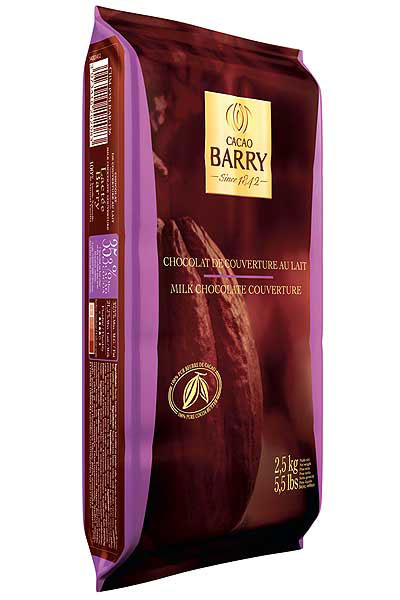 Milk Cacao Barry Block 2.5 Kg