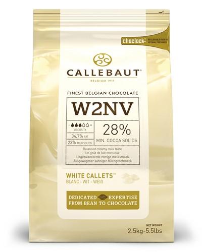 White Couverture:Callebaut 2.5 กก.