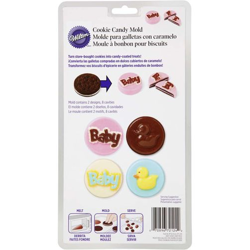 2115-2124 Wilton BABY COOKIE CANDY MOLD