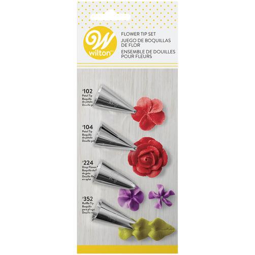 418-6607 FLOWER 4PC SET