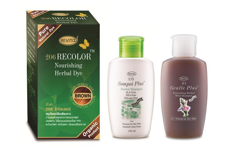 Revita Recolor (Brown) Set