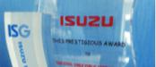 QCD Improvement Supplier in 2010 Awards, ISUZU