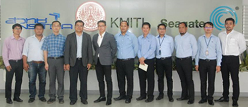 TSC management visited King Mongkut's Institute of Technology Ladkrabang ( KMITL)