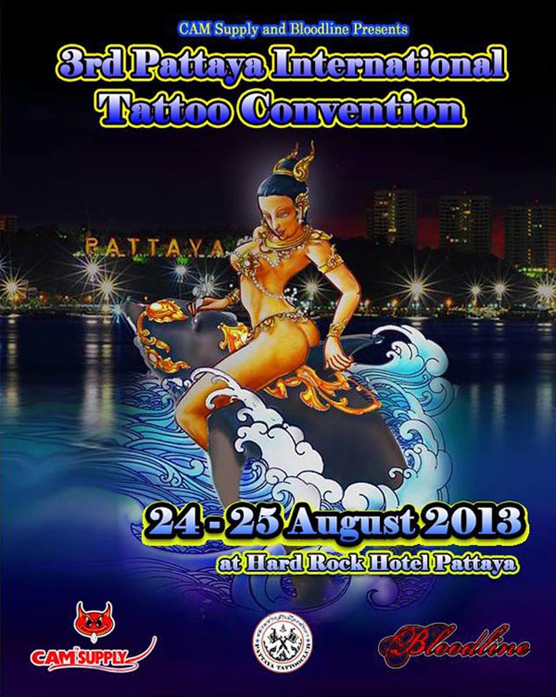 PATAYA TATTOO CONVENTION 2013