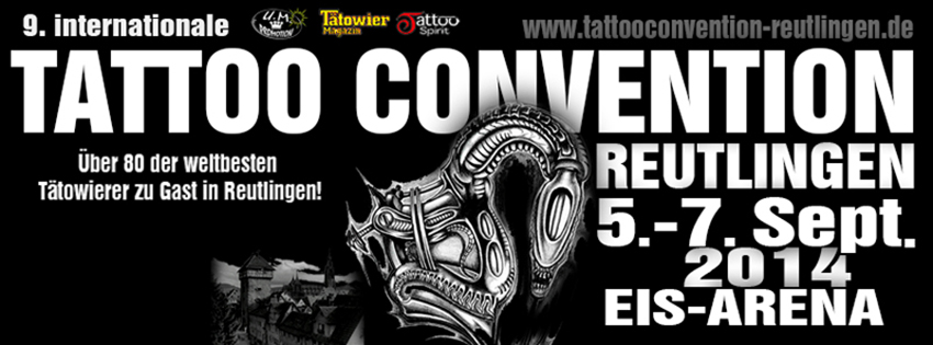 REUTLINGEN TATTOO CONVENTION 2014