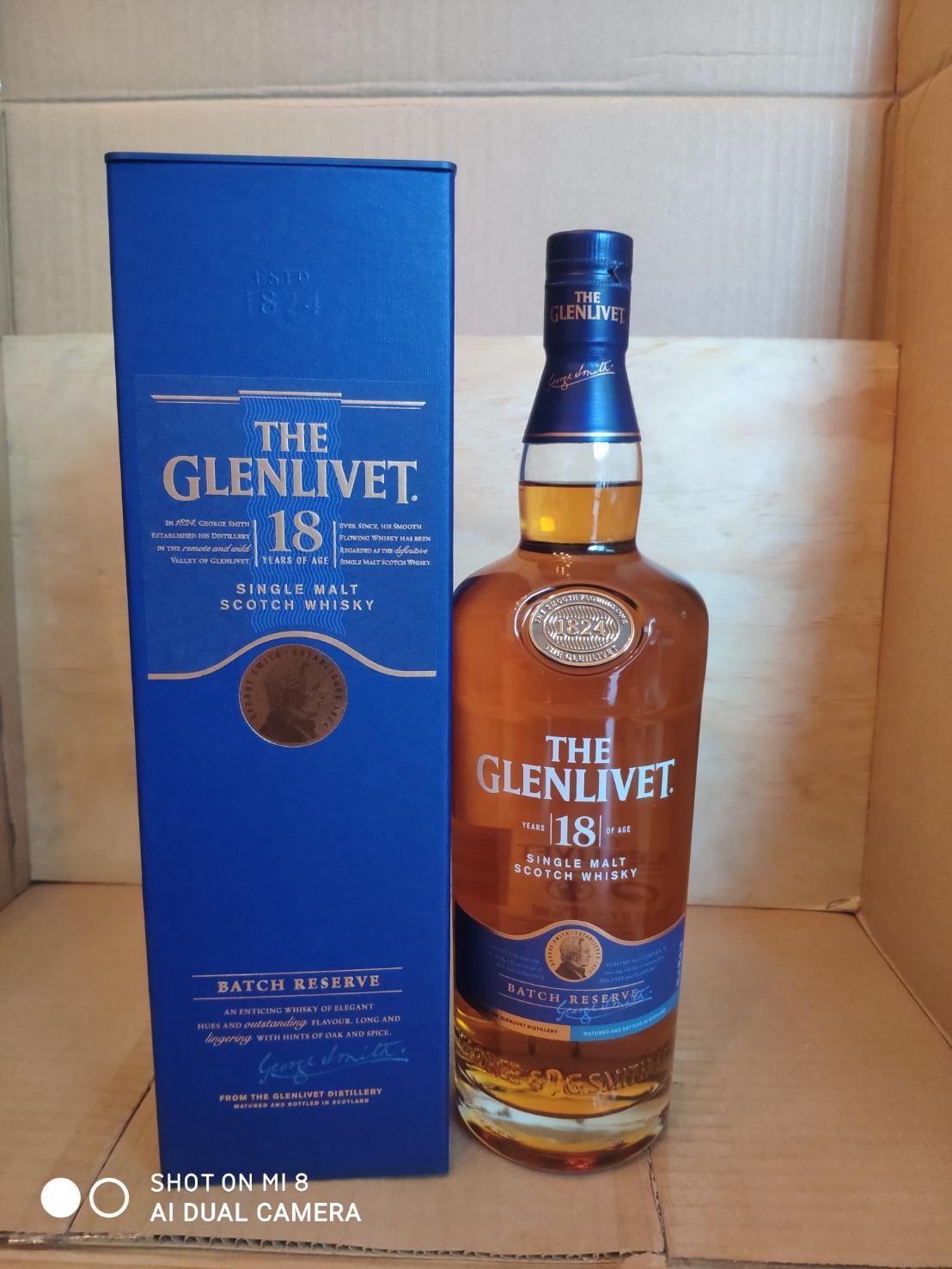 Glenlivet 18y 1L (43%)