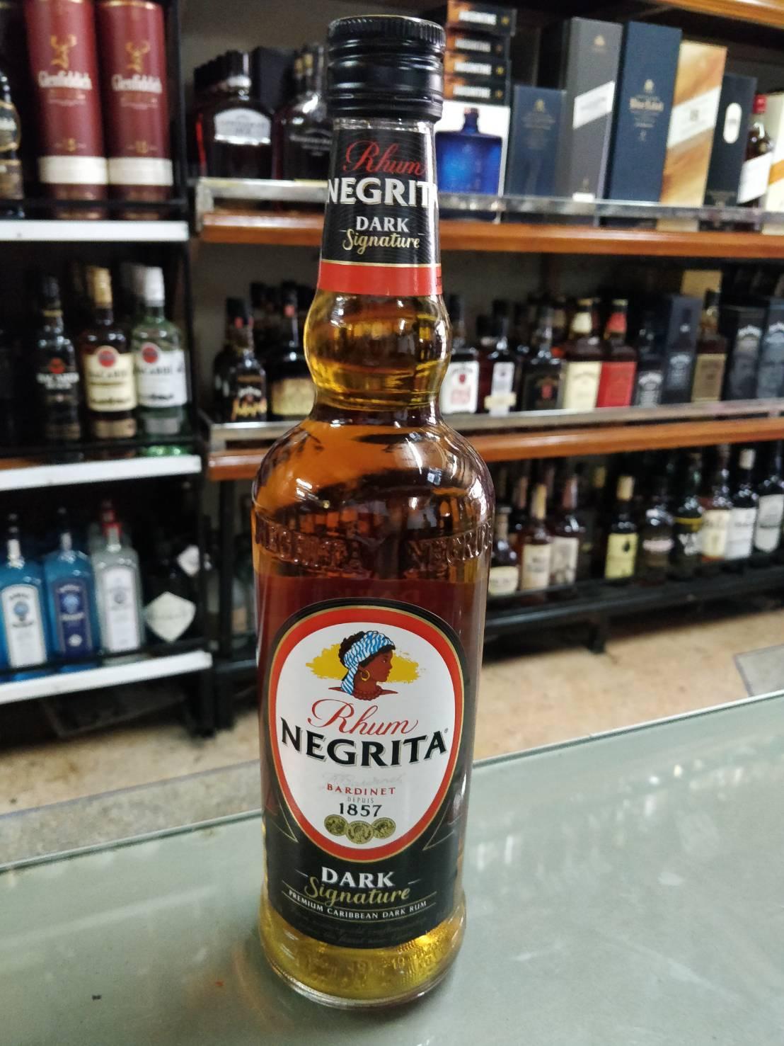 Negrita Dark Rum 70cl (37.5%)