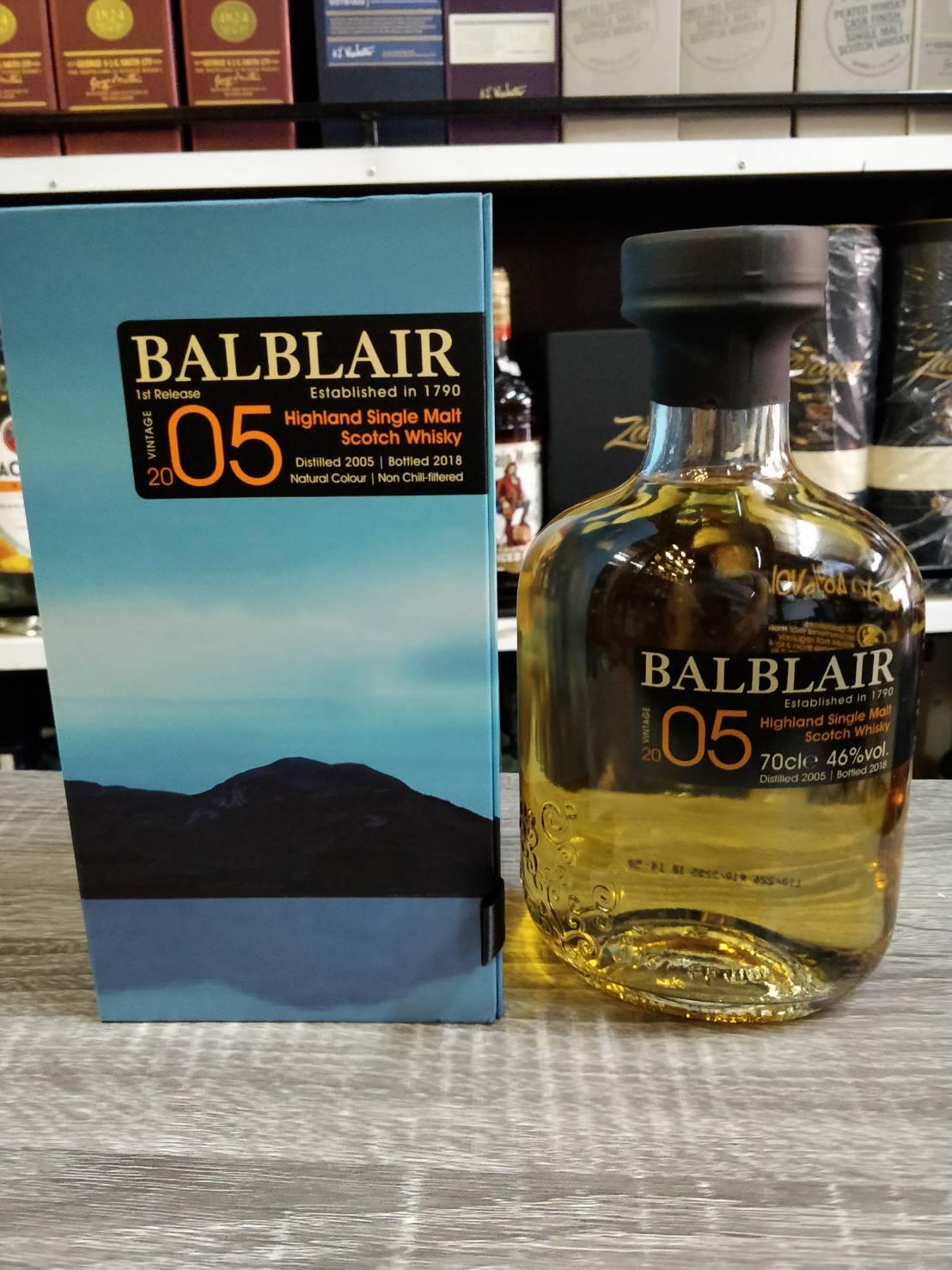 Balblair 2005 - 1st Release (70cl, 46%)