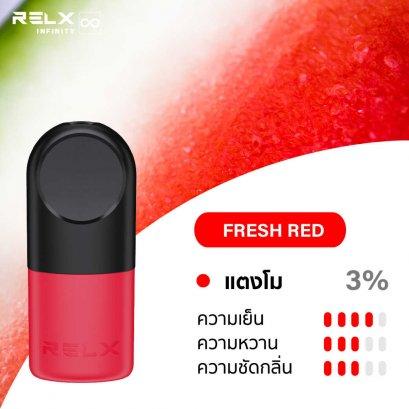 Relx Infinty Pod Fresh Red (เเตงโม)