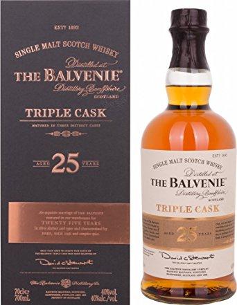 Balvenie 25y Triple Cask 70cl (40%)
