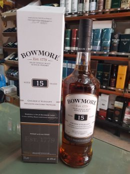 Bowmore 15Y 1L
