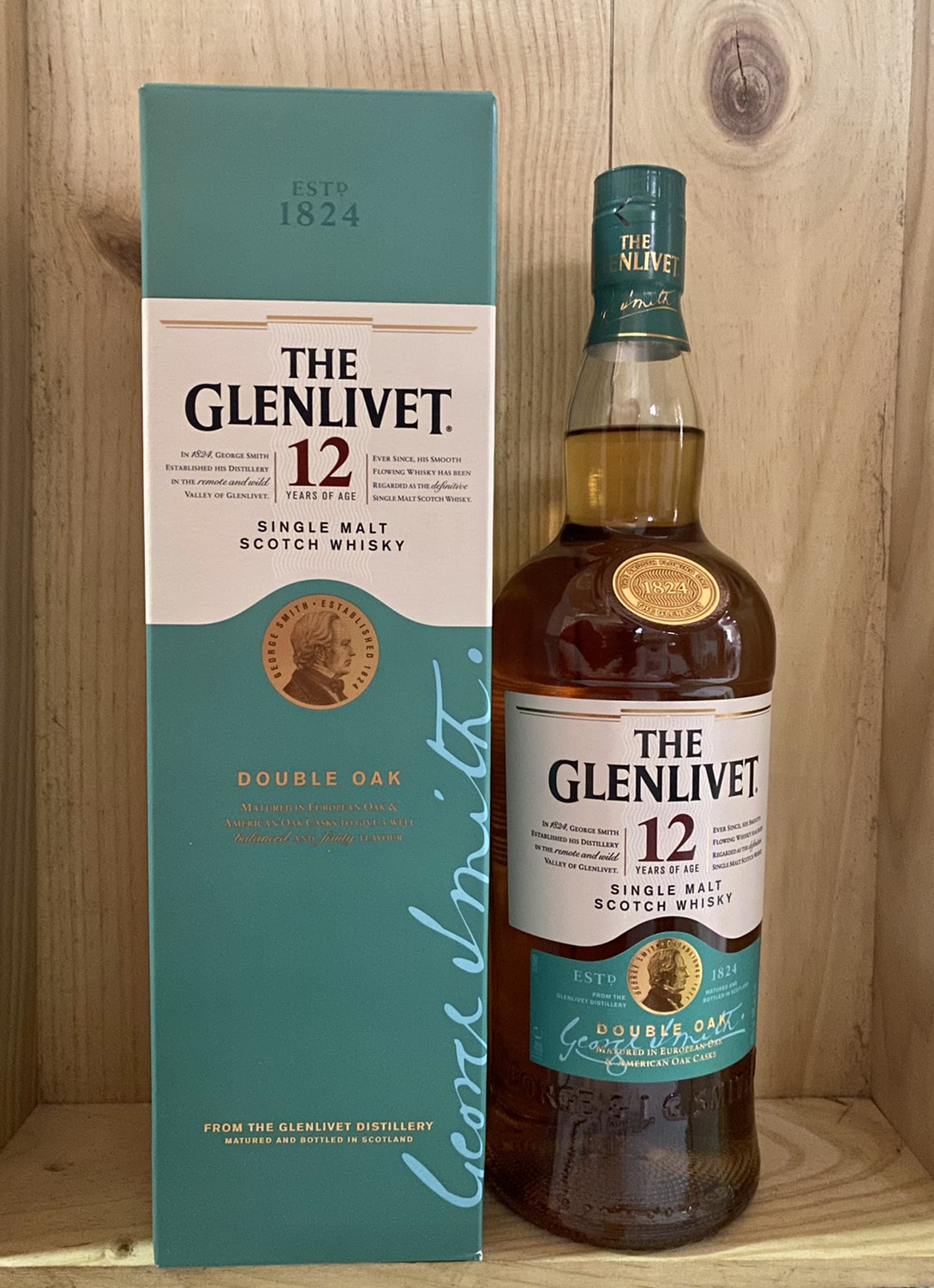 Glenlivet 12Y double oak 1L