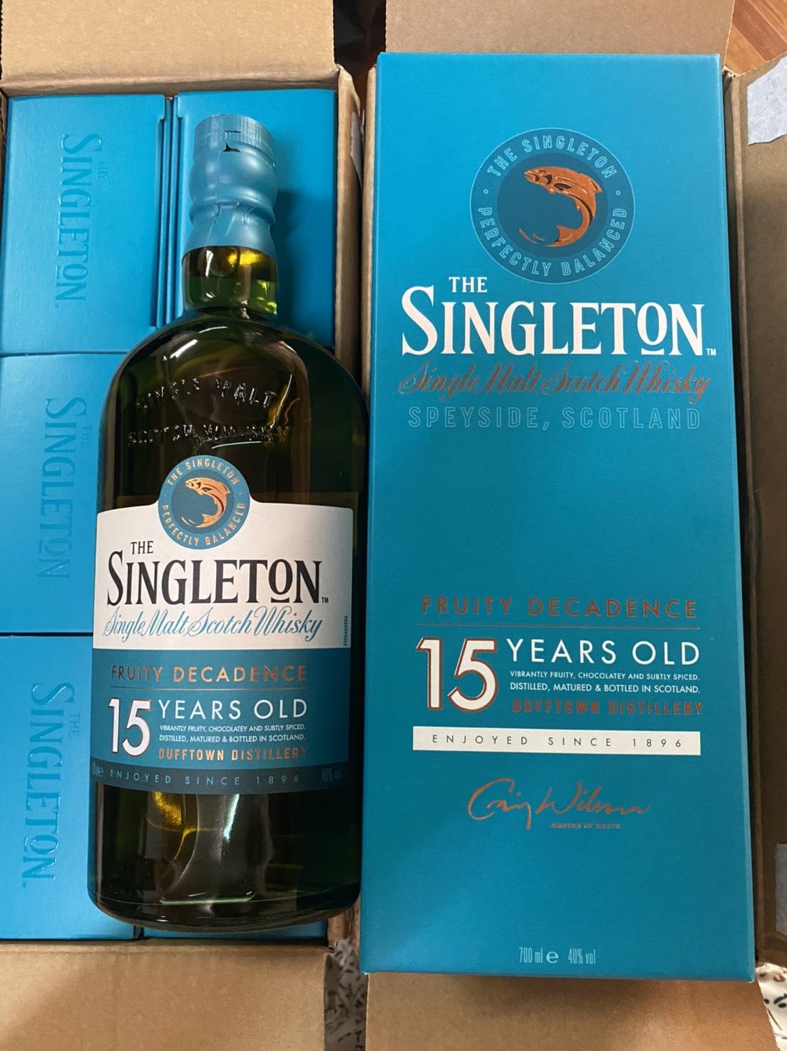 Singleton Dufftown 15Y 70cl