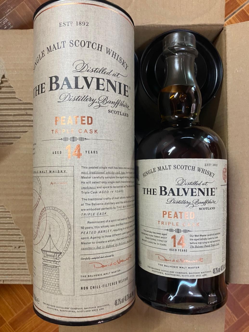 Balvenie 14Y Peated Triple cask 70cl
