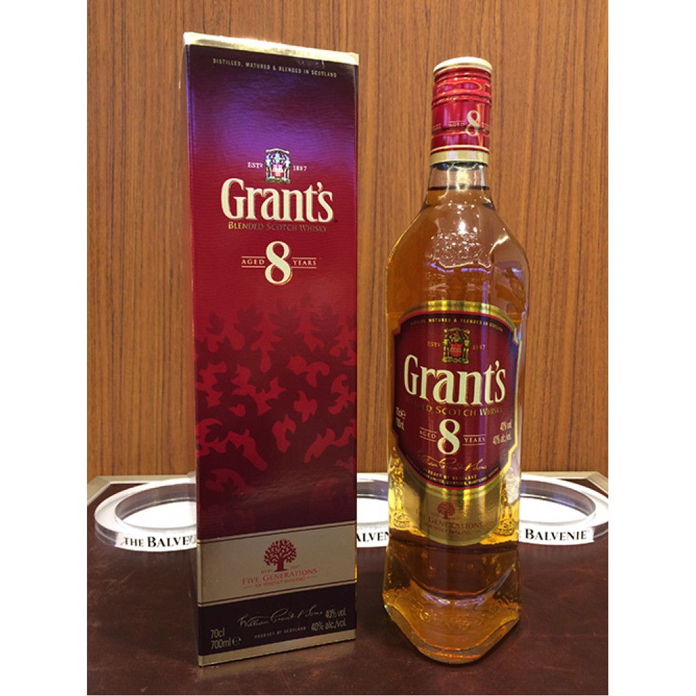 Grant's 8 Year Old 700ml