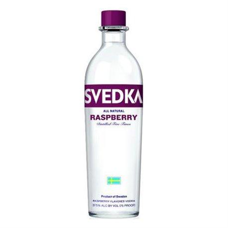 Svedka Raspberry Vodka- 750ml - 37%