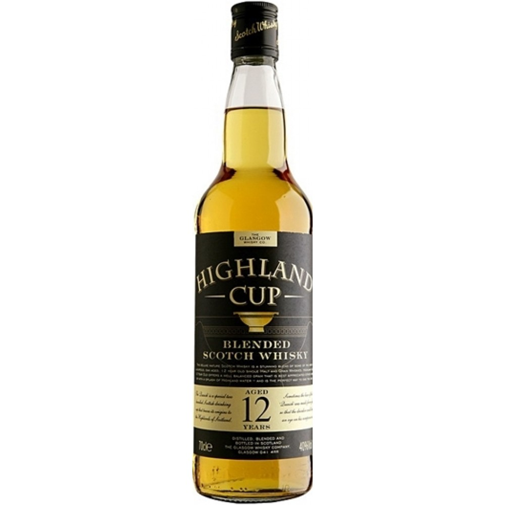 Highland Cup 12 Years Old 70cl